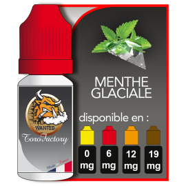 E-liquide francais goût saveur Menthe glaciale